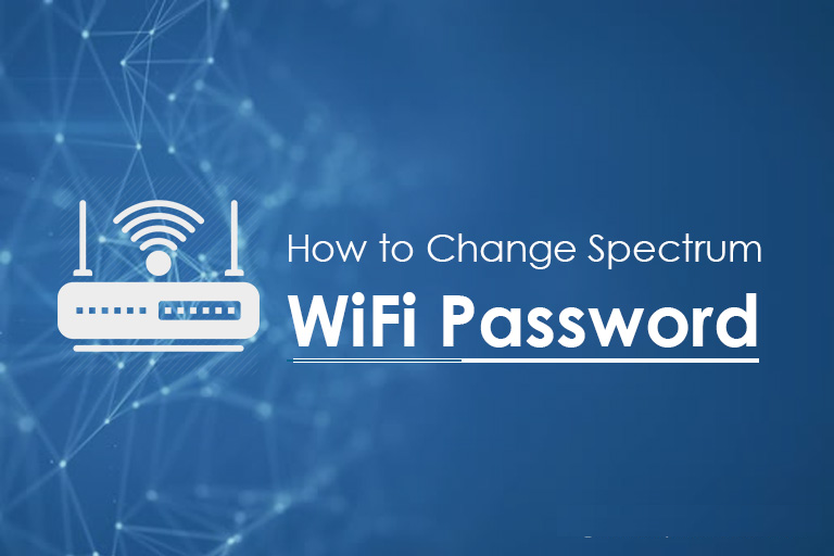 change spectrum wifi network password